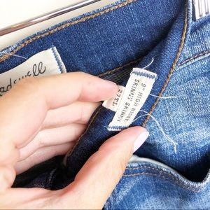 "Madewell Jeans - Madewell • 9"" High Riser Skinny Skinny Jeans"